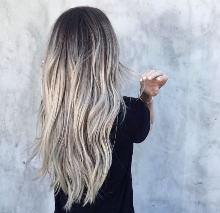 White Grey Balayage – Google Search | Grey Hair | Pinterest | Gray Within White And Dirty Blonde Combo Hairstyles (View 21 of 25)