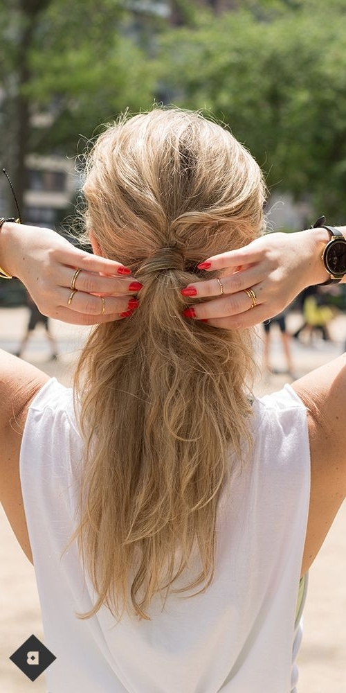 Who Says Ponytails Are Just For The Gym? Pump Up The Volume And Add Within Pumped Up Messy Ponytail Hairstyles (View 11 of 25)