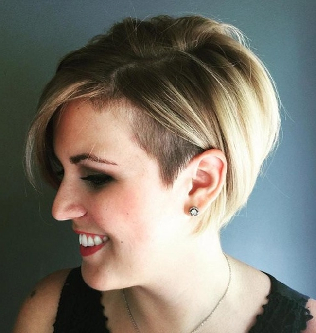 Women Hairstyle Trend In 2016: Undercut Hair For 2018 Pixie Bob Hairstyles With Temple Undercut (View 12 of 25)