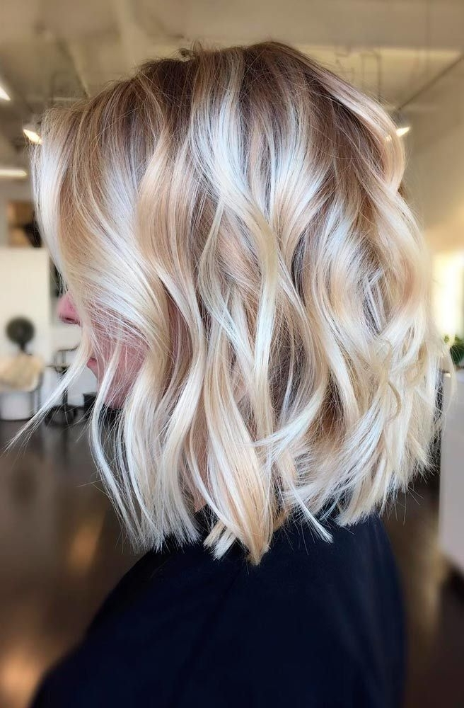 Featured Photo of Soft Layers And Side Tuck Blonde Hairstyles