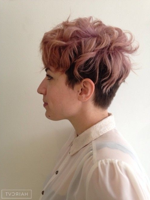 Featured Photo of Tousled Pixie Hairstyles With Undercut