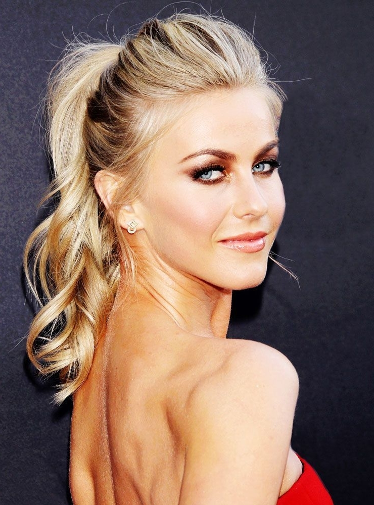 You Need To Try This Ponytail Hack In 2018 | Beauty | Pinterest Within Long Blond Ponytail Hairstyles With Bump And Sparkling Clip (View 24 of 25)