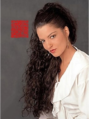 Young Fashion Messy Water Wave Hairstyle Ponytail Clip In Loose In Messy Waves Ponytail Hairstyles (View 25 of 25)