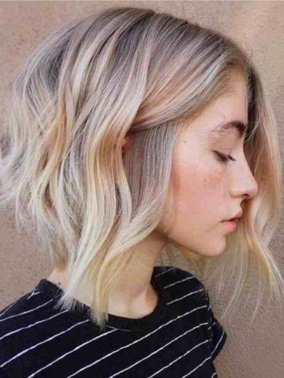 05 Hottest Bob Hairstyles 2018 To Create Now | I Like Hair! And Regarding Butter Blonde A Line Bob Hairstyles (View 10 of 25)