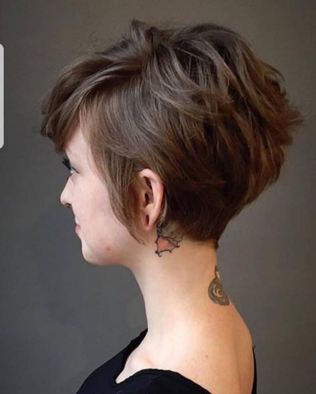 10 Beautiful Asymmetrical Short Pixie Haircuts & Hairstyles, Women With Asymmetric Short Haircuts (View 25 of 25)