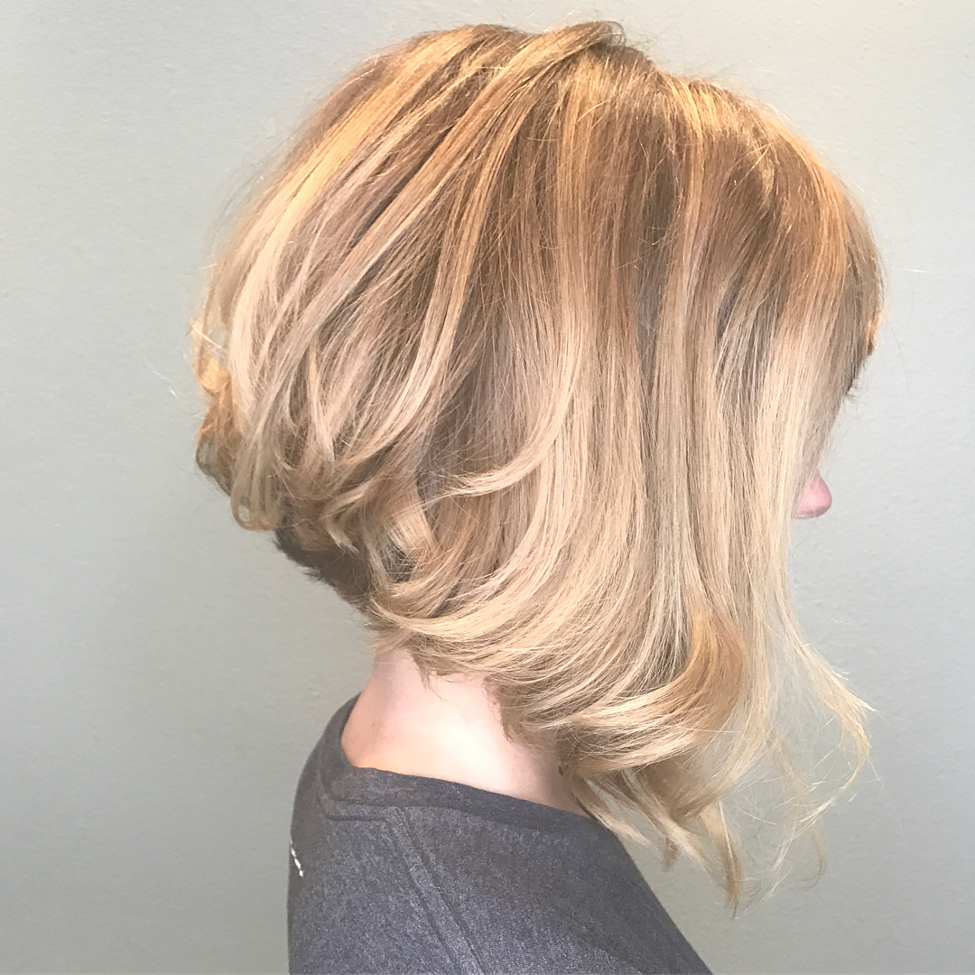 10 Beautiful Medium Bob Haircuts &edgy Looks: Shoulder Length Throughout Angled Brunette Bob Hairstyles With Messy Curls (View 25 of 25)