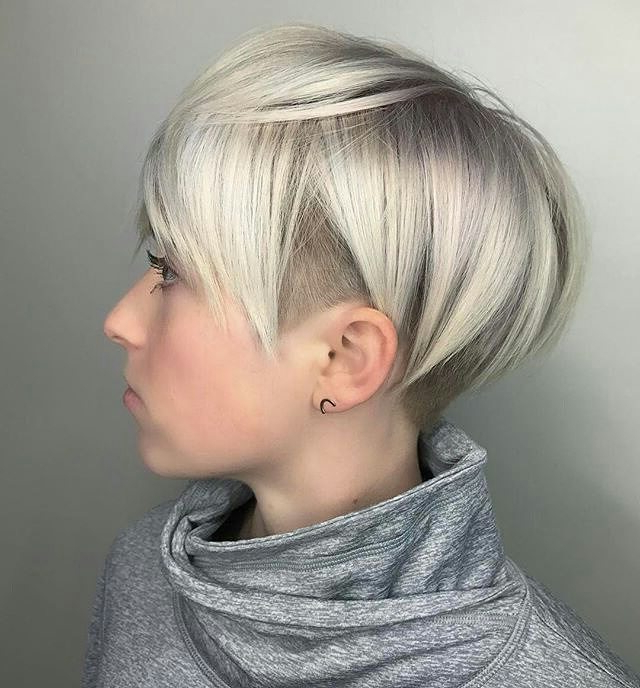 10 Best Pixie Haircuts 2019 – Short Hair Styles For Women With Ash Blonde Undercut Pixie Haircuts (View 8 of 25)