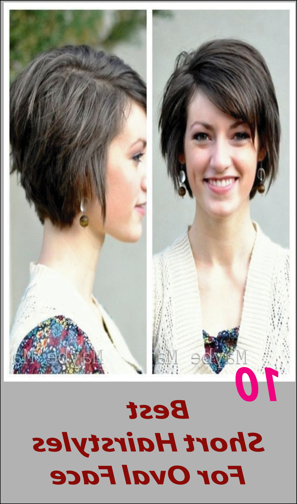 10 Best Short Hairstyles For Oval Face | Hair | Pinterest | Hair Inside Short Hairstyles Oval Face (View 1 of 25)