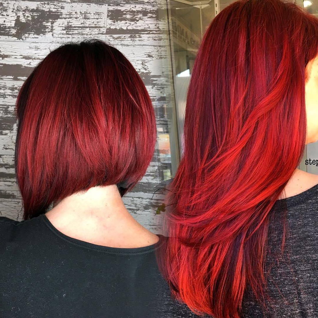 10 Best Short Hairstyles For Thick Hair In Fab New Color Combos Pertaining To Red Short Hairstyles (View 15 of 25)