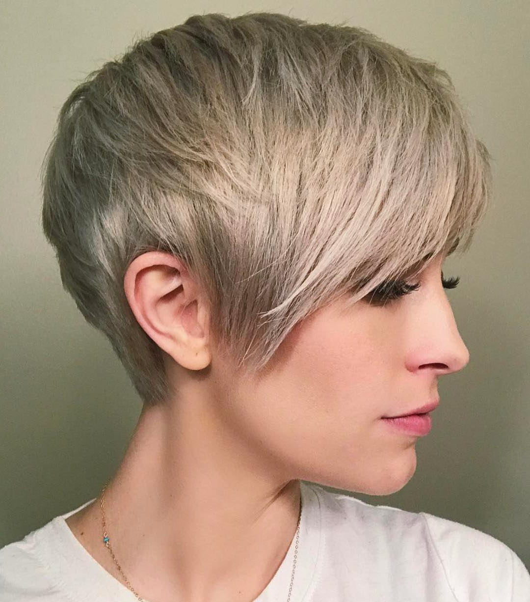 10 Best Short Straight Hairstyle Trends – Women Short Haircut Ideas 2018 With Ash Blonde Short Hairstyles (View 5 of 25)