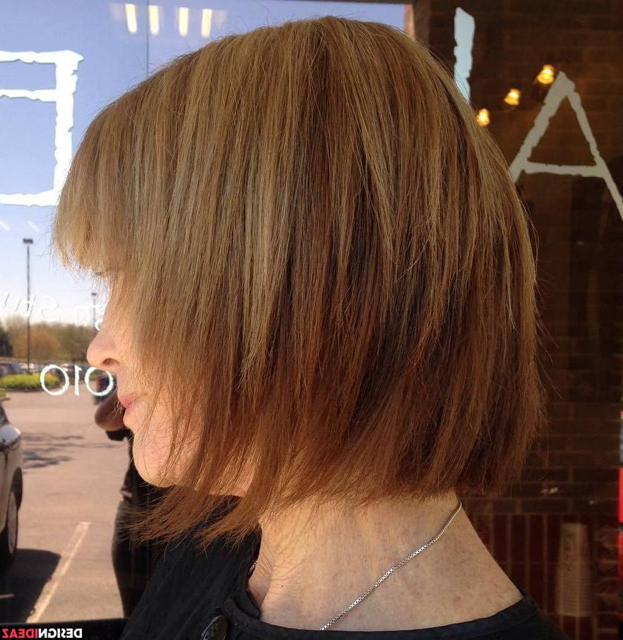 10 Contemporary Shag Haircut For Fine Hair With Disheveled Burgundy Brown Bob Hairstyles (View 22 of 25)