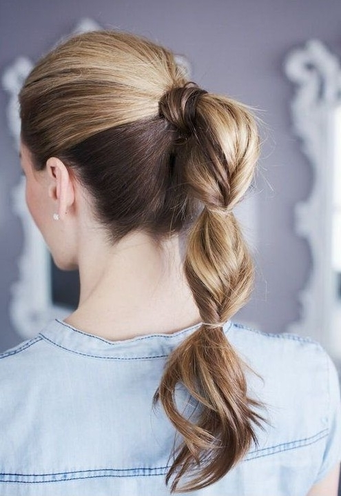 10 Cute Ponytail Hairstyles For 2018: New Ponytails To Try This With Charmingly Soft Ponytail Hairstyles (View 20 of 25)