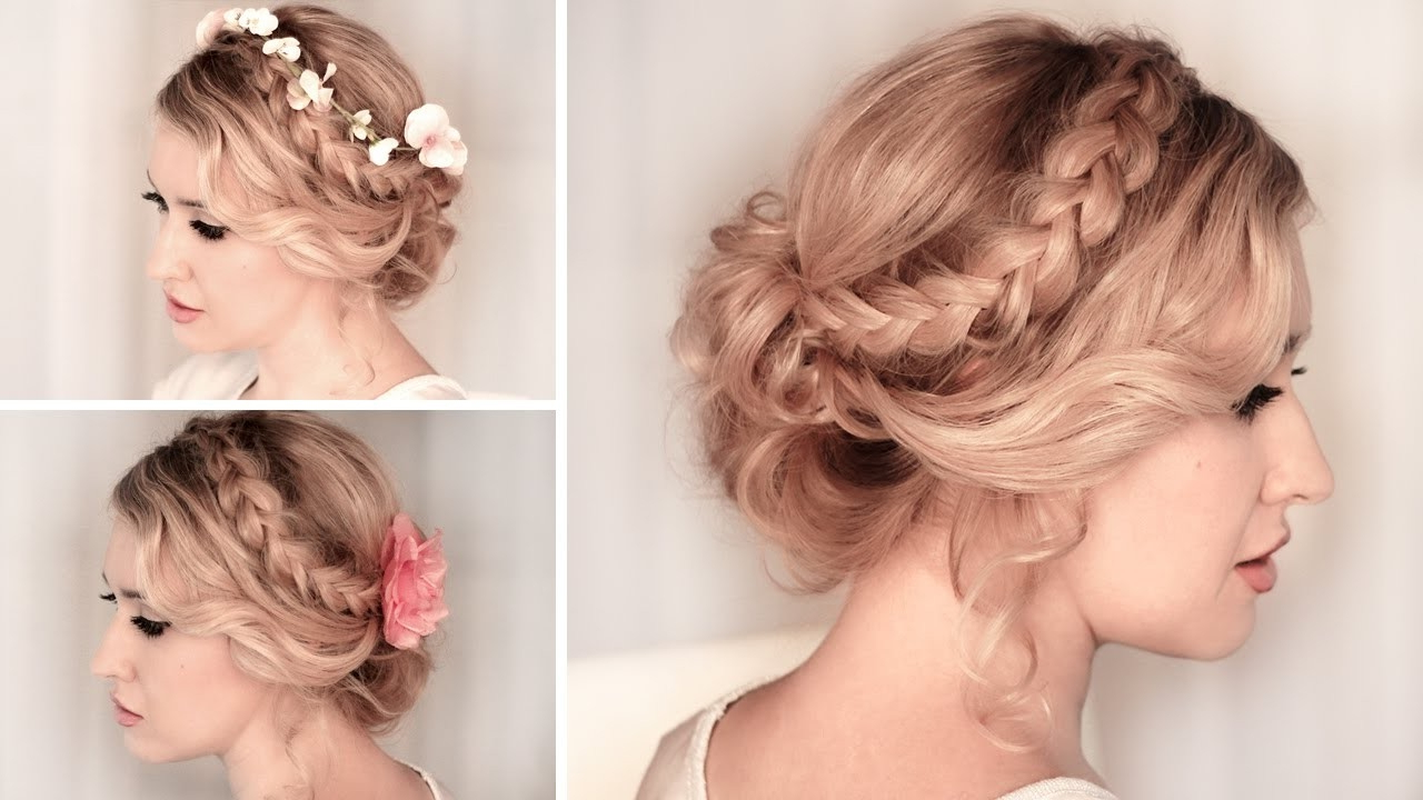 10 Easy Hairstyles For A Special Occasion – Youtube In Short Hairstyles For Special Occasions (View 2 of 25)