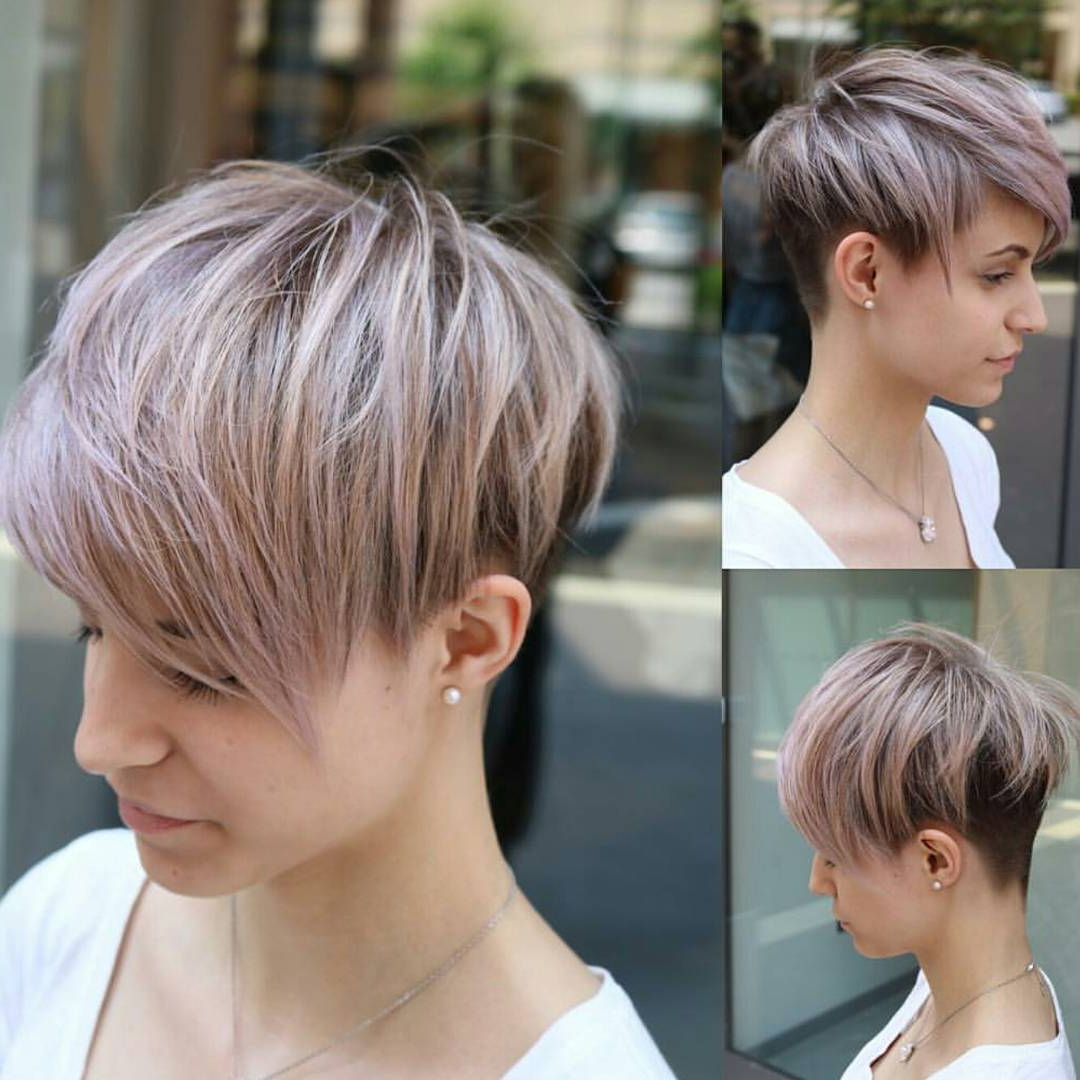 10 Easy Pixie Haircut Styles & Color Ideas, 2018 Women Short Hairstyles Regarding Pixie Layered Short Haircuts (View 18 of 25)