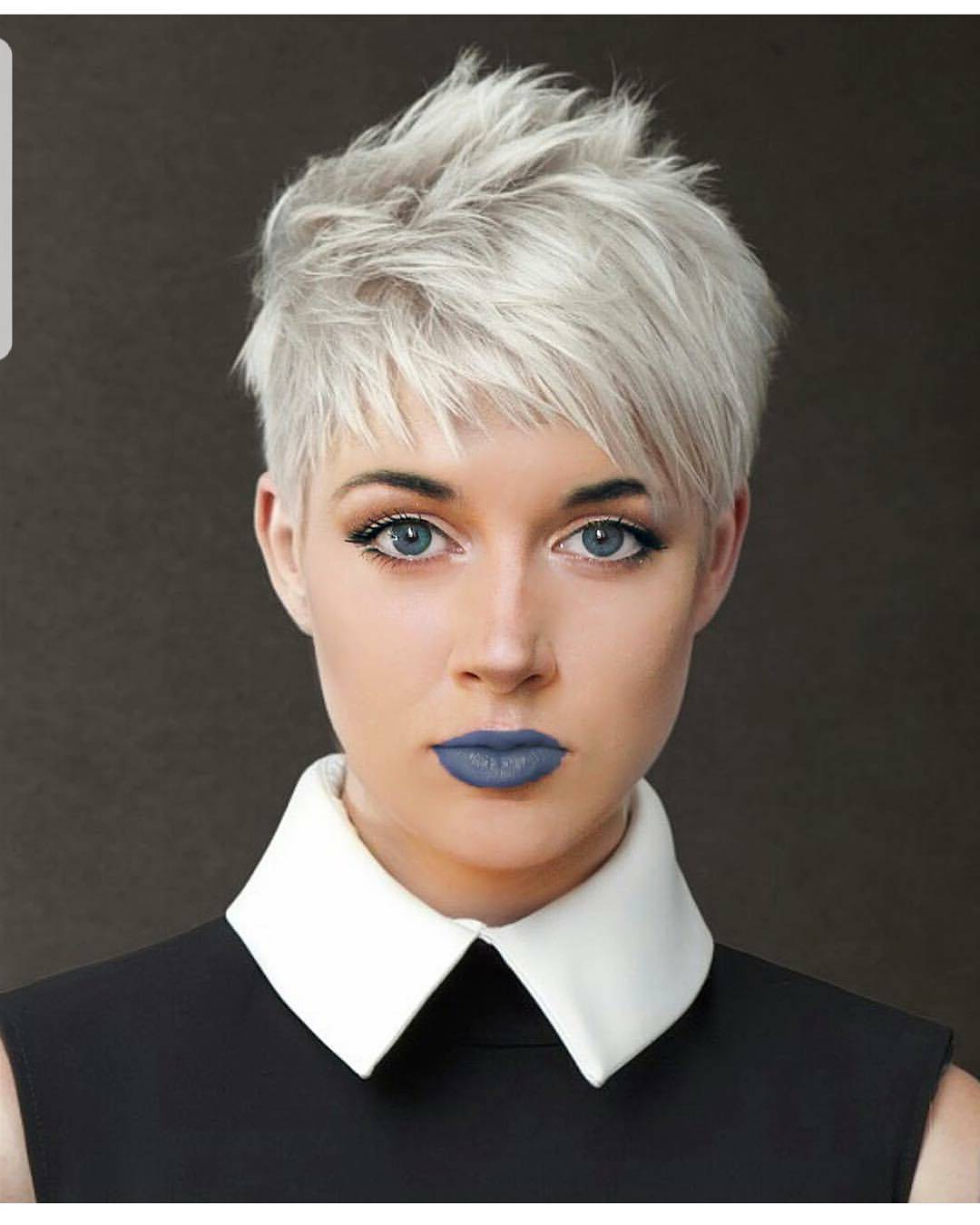 10 Easy Pixie Haircut Styles & Color Ideas, 2018 Women Short Hairstyles With Regard To Platinum Blonde Short Hairstyles (View 25 of 25)