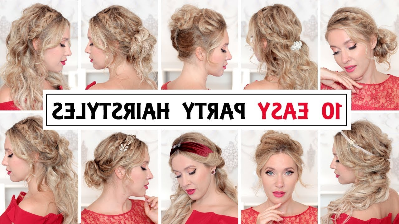 10 Easy Wedding Party Hairstyles For Short, Medium And Long Hair With Special Occasion Short Hairstyles (View 1 of 25)
