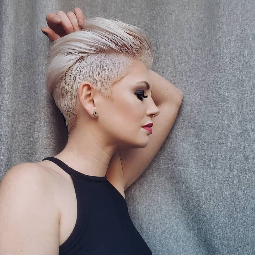 10 Edgy Pixie Haircuts For Women, 2018 Best Short Hairstyles With Regard To Pink Short Hairstyles (View 15 of 25)