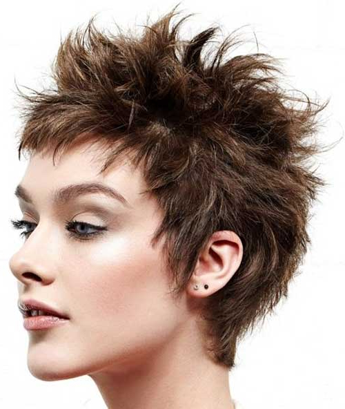 10 Exclusive Short Spiky Hairstyles For Fearless Women Within Short Spiked Haircuts (View 13 of 25)