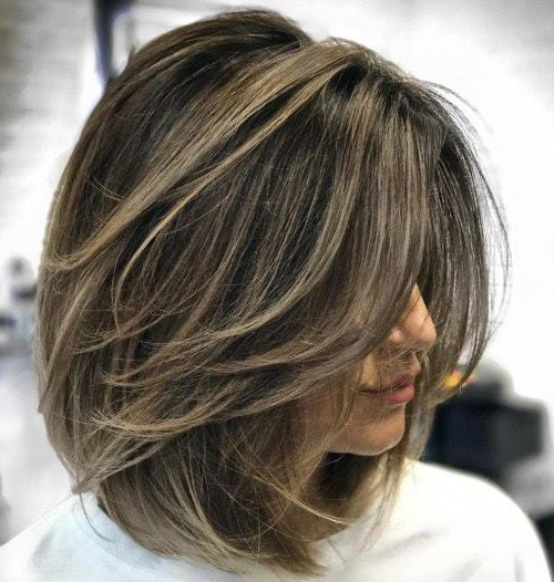 10 Exquisite Layered Haircuts For Thick Hair – Hairstylecamp With Regard To Layered Haircuts For Thick Hair (View 18 of 25)