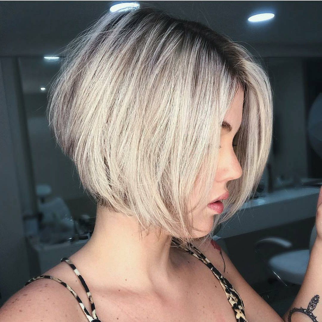 10 Fab Short Hairstyles With Texture & Color, 2018 Women Short Haircuts Intended For Posh Spice Short Hairstyles (View 19 of 25)