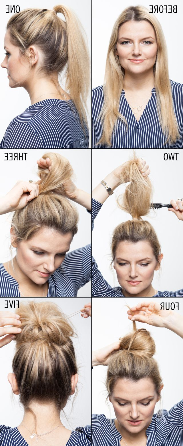 10 Hair Tutorials To Try: How To Teased Hair – Pretty Designs In Teased Short Hairstyles (View 5 of 25)