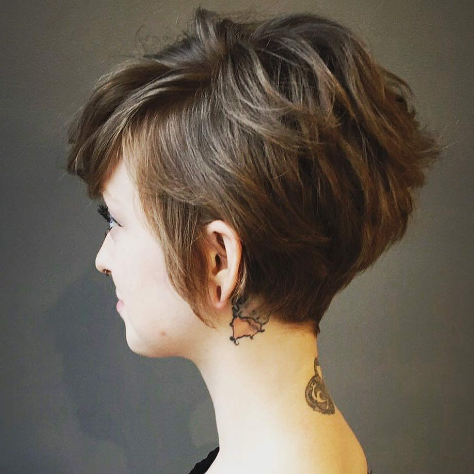 10 Highly Stylish Short Hairstyle For Women – 2018 Short Haircut Trends Regarding Asymmetrical Short Hairstyles (View 10 of 25)
