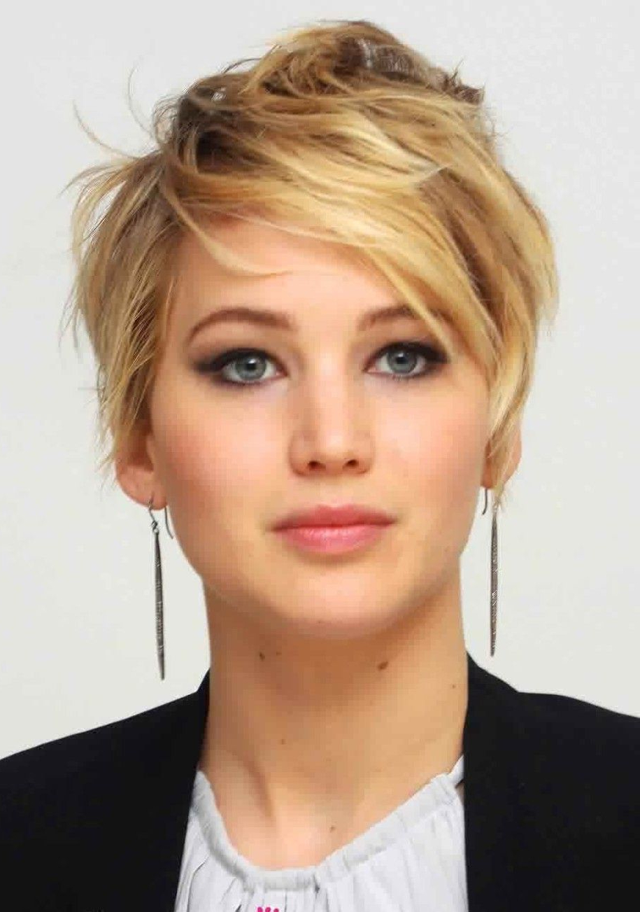 10 Hollywood Actress Short Hairstyle That Gives Inspiration 2015 Regarding Jennifer Lawrence Short Hairstyles (View 22 of 25)
