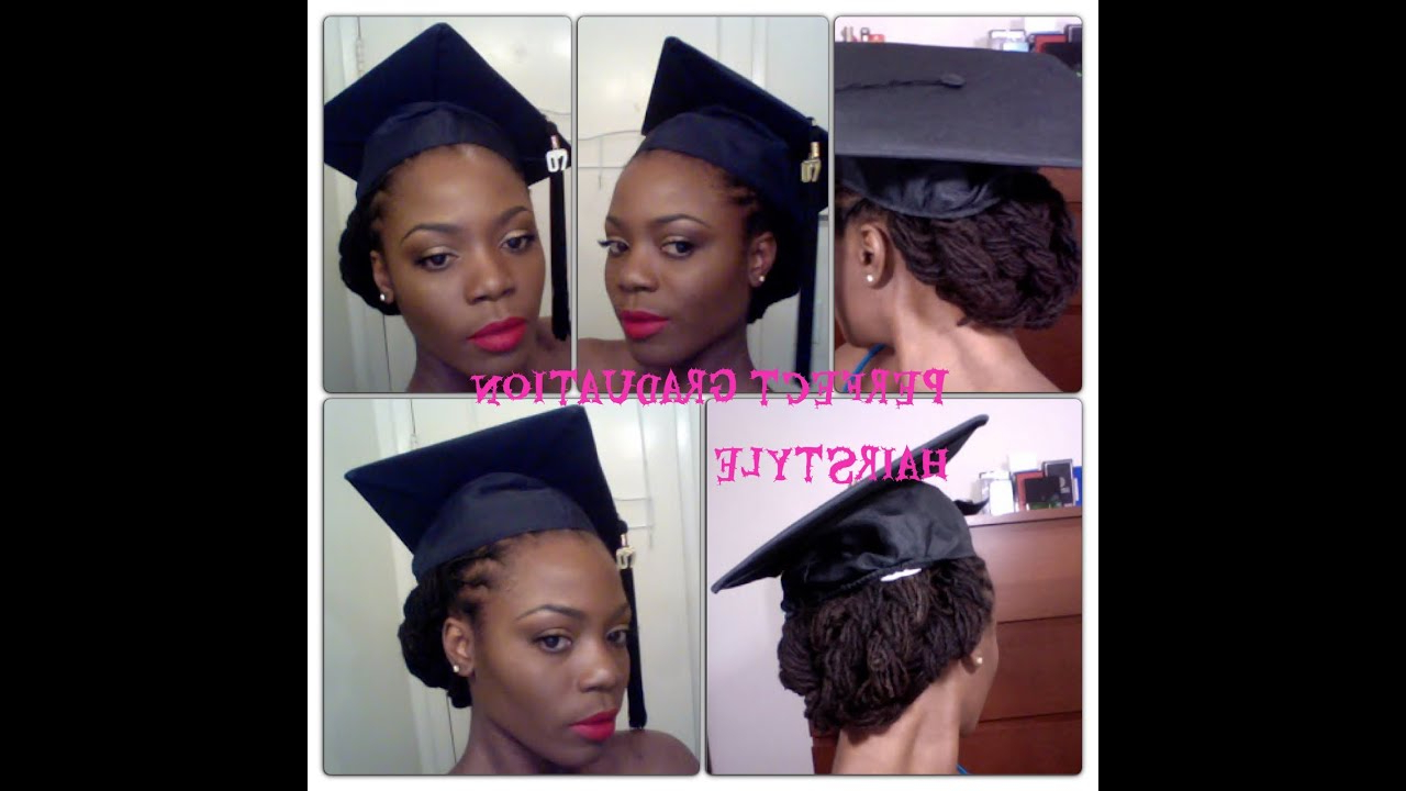 10 Ingenious Ways You Can Do With Graduation Hairstyles With Cap Within Graduation Cap Hairstyles For Short Hair (View 11 of 25)