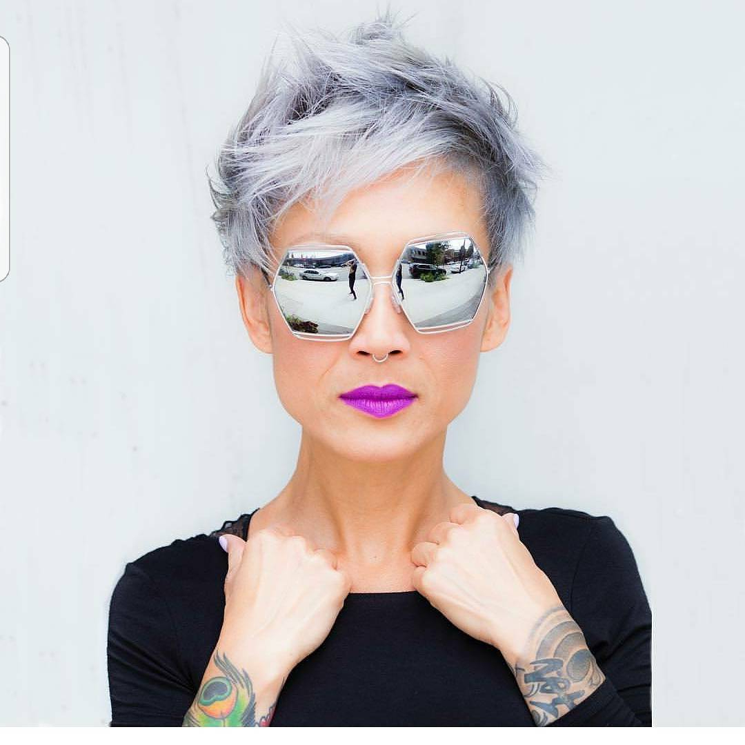 10 Latest Long Pixie Hairstyles To Fit & Flatter – Short Haircuts 2018 With Regard To Short Haircuts For Coarse Gray Hair (View 25 of 25)