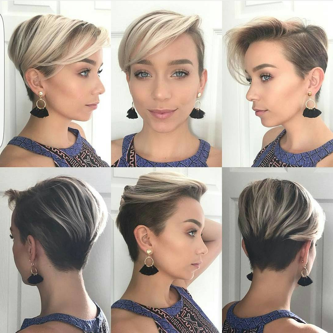 10 Latest Long Pixie Hairstyles To Fit & Flatter – Short Haircuts 2018 Within Short Hairstyles For Pointy Chins (View 14 of 25)