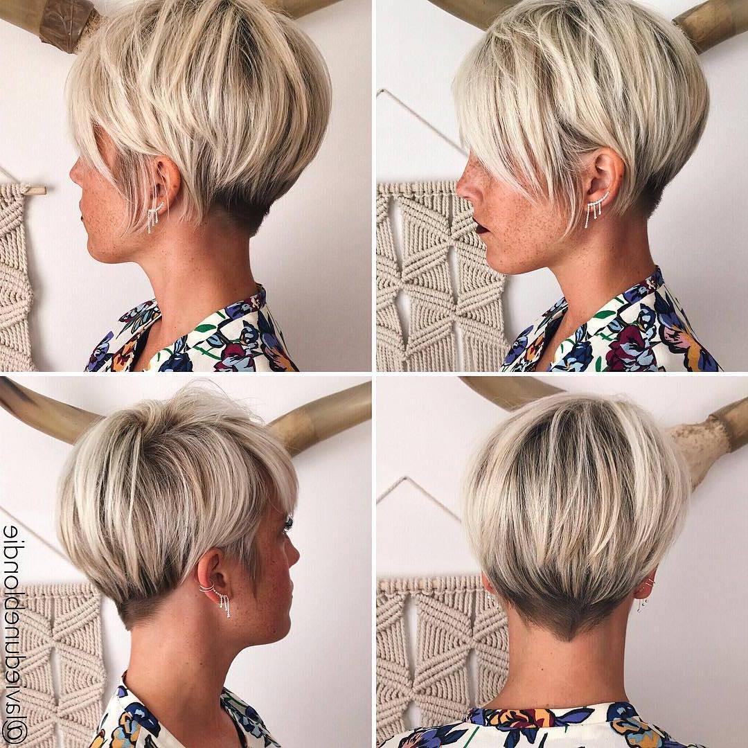 10 Latest Pixie Haircut For Women – 2018 Short Haircut Ideas With A Regarding Short Hair Cut Designs (View 19 of 25)