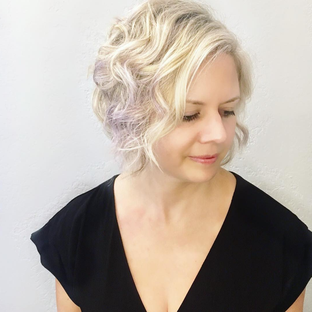 10 Latest Short Hairstyle For Women Over 40 – 50: Short Haircuts For In Short Hairstyle For Over  (View 10 of 25)