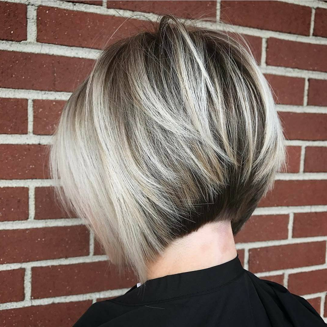 10 Layered Bob Hairstyles – Look Fab In New Blonde Shades! – Popular Throughout White Blonde Curly Layered Bob Hairstyles (View 2 of 25)