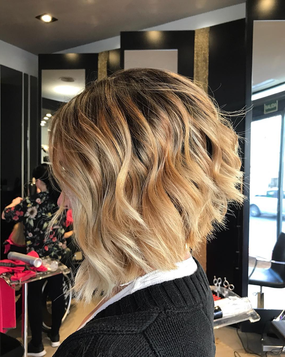 10 Layered Bob Hairstyles – Look Fab In New Blonde Shades! – Popular With Regard To Curly Angled Bob Hairstyles (View 14 of 25)