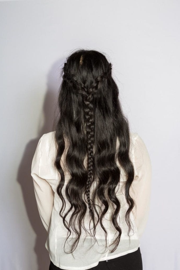 10 Long Black Hairstyles To Wear This Year Regarding Loosey Goosey Ponytail Hairstyles (View 16 of 25)