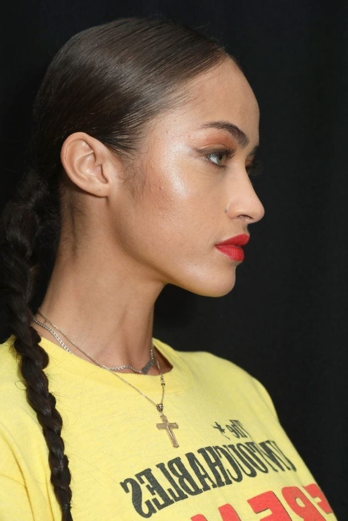 10 Long Black Hairstyles To Wear This Year Within Loosey Goosey Ponytail Hairstyles (View 19 of 25)