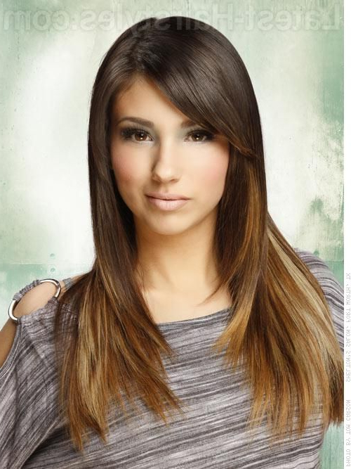 10 Long Sleek Hairstyles We Absolutely Love | Beauty | Pinterest With Regard To Pretty And Sleek Hairstyles For Thick Hair (View 16 of 25)