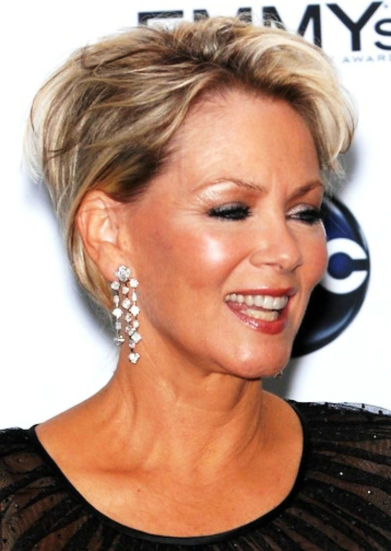 10 Luxury Short Hairstyles For Fine Hair Over 60 ~ Louis Palace Regarding Short Hairstyles For 60 Year Old Woman (View 25 of 25)