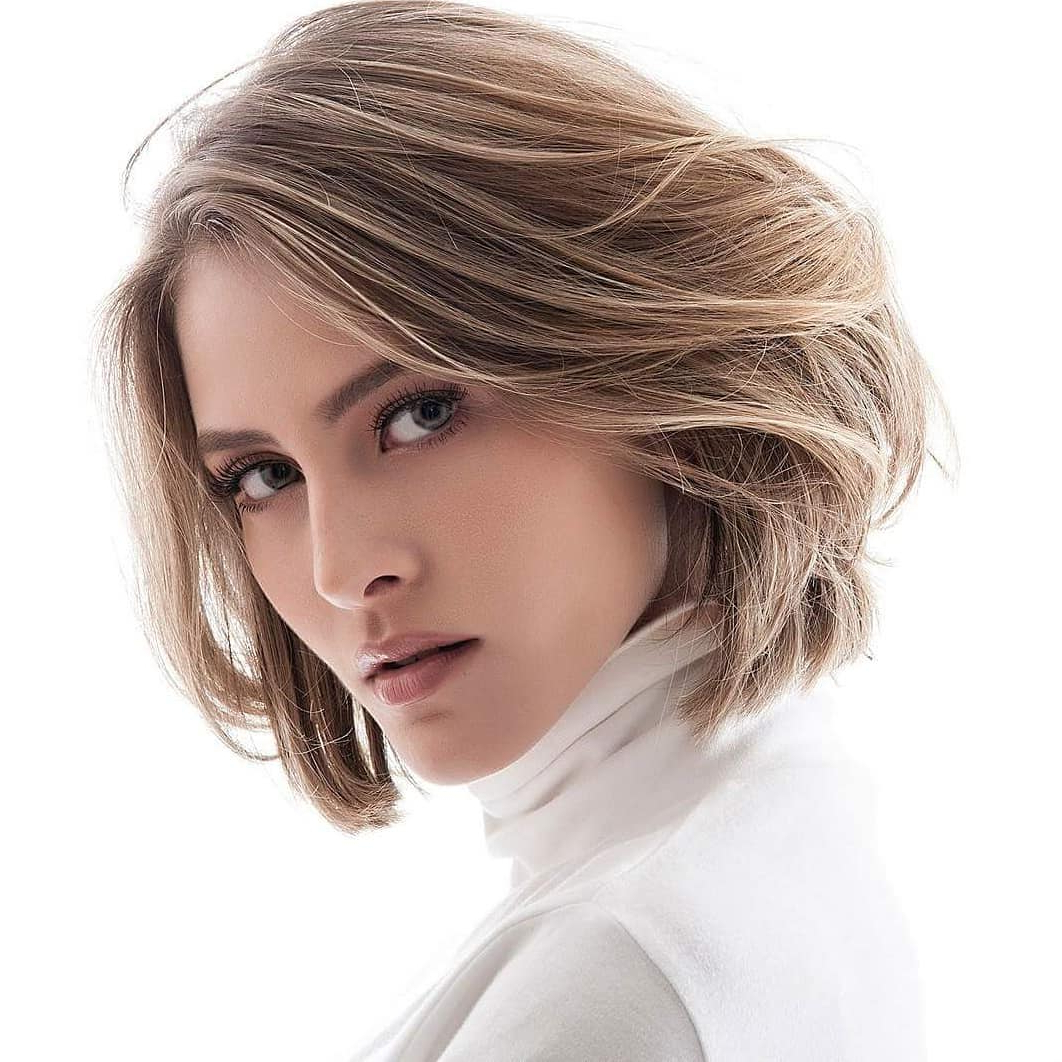 10 Medium Bob Haircut Ideas, Casual Short Hairstyles For Women 2019 In Short To Medium Hairstyles With Bangs (View 24 of 25)