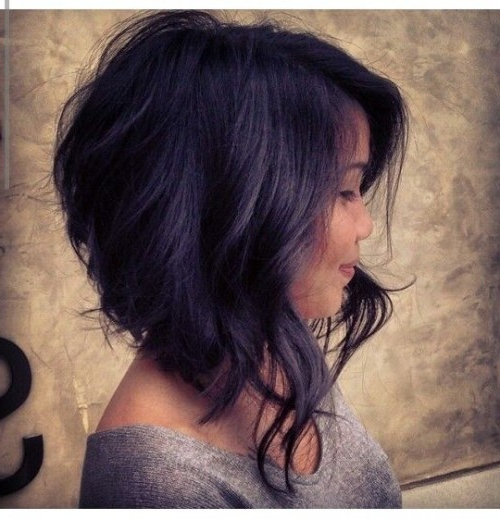 10 Medium Length Haircuts For Thick Hair | Hairstyles Update Regarding Layered Haircuts For Thick Hair (View 4 of 25)