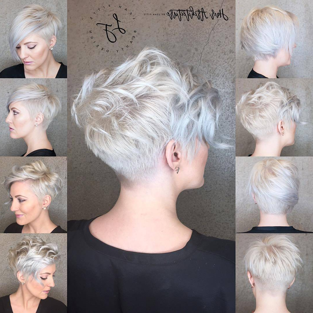 10 Messy Hairstyles For Short Hair – 2018 Short Hair Cut & Color Update Regarding Messy Short Haircuts For Women (View 2 of 25)