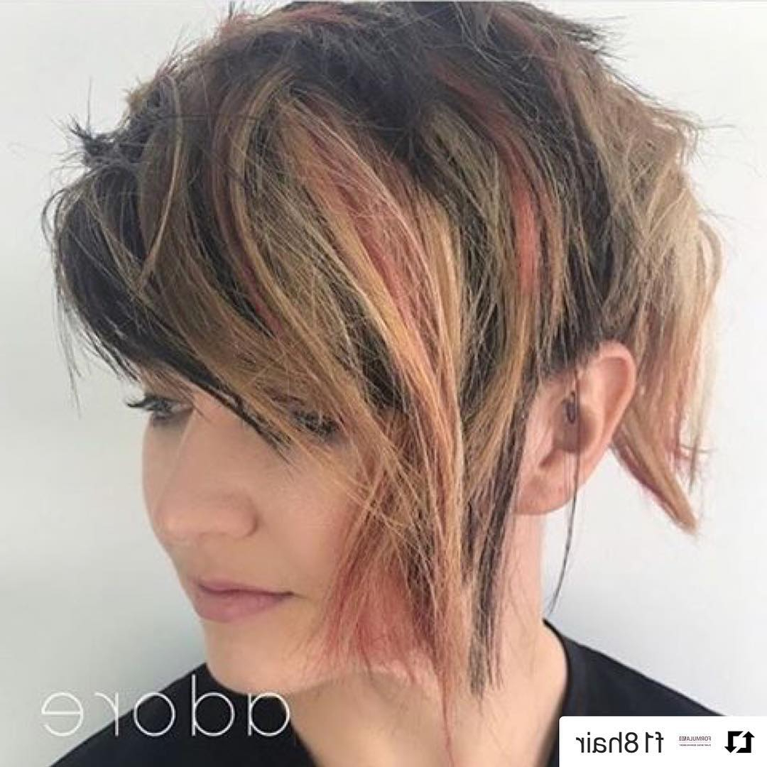 10 Messy Hairstyles For Short Hair – Quick Chic! Women Short Haircut For Messy Short Haircuts For Women (View 3 of 25)