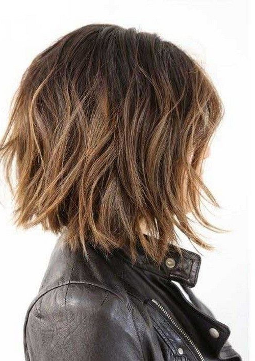 10 More Chic Wavy Bob Haircuts | Gorgeous Hair | Pinterest | Hair Regarding Messy Shaggy Inverted Bob Hairstyles With Subtle Highlights (View 2 of 25)