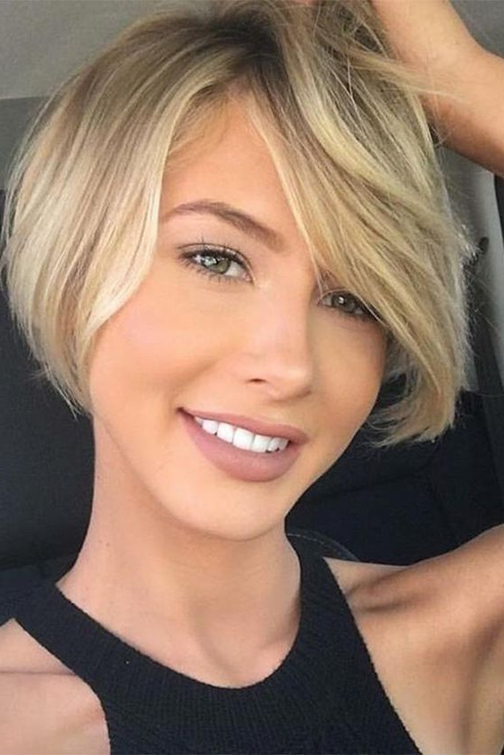 10 Most Amazing Short Haircuts For Women (2018) | Beauty | Pinterest Inside Icy Poker Straight Razored Pixie Haircuts (View 6 of 25)
