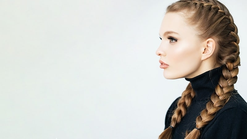 10 Most Stunning French Braid Styles You Need To Try – The Trend Spotter Inside Double French Braid Crown Ponytail Hairstyles (View 20 of 25)