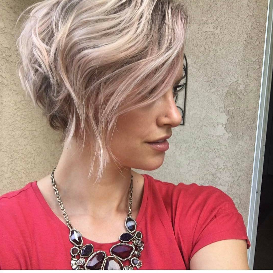 10 New Short Hairstyles For Thick Hair 2018, Women Haircut Ideas In Short Haircut For Thick Wavy Hair (View 21 of 25)