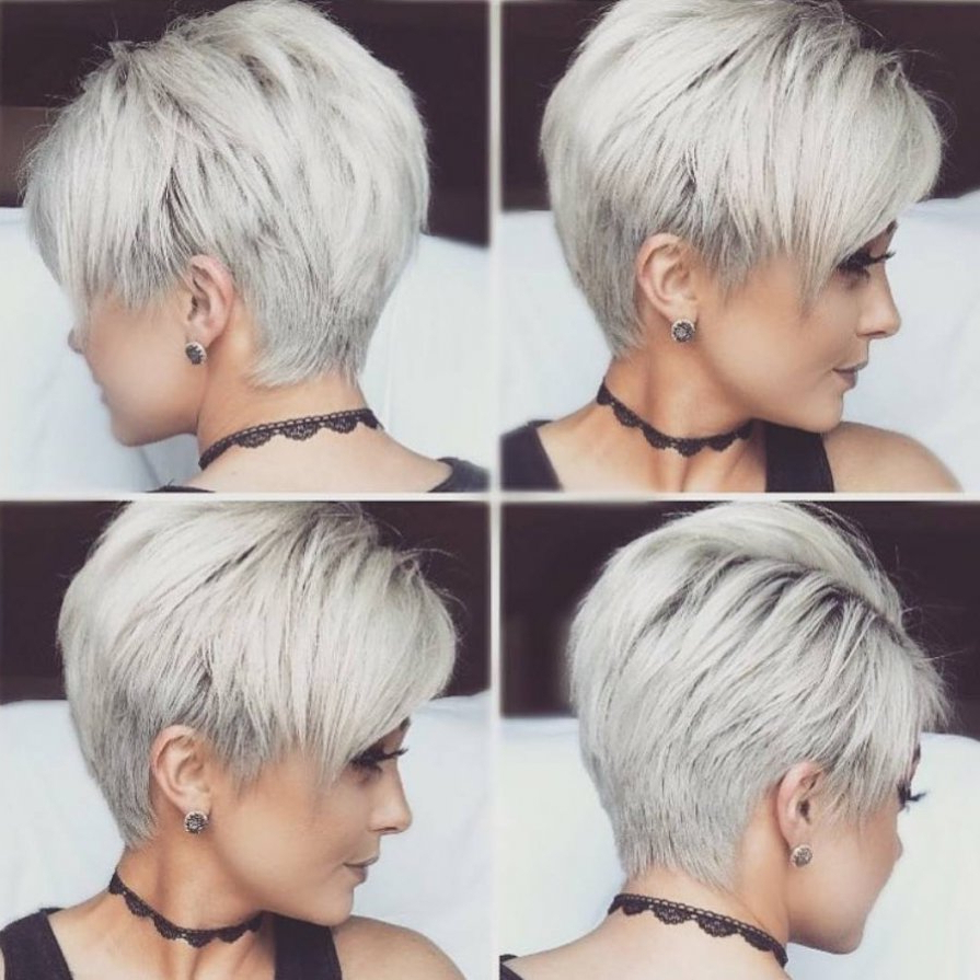 10 New Short Hairstyles For Thick Hair 2018, Women Haircut Ideas Within Ladies Short Hairstyles For Thick Hair (View 11 of 25)