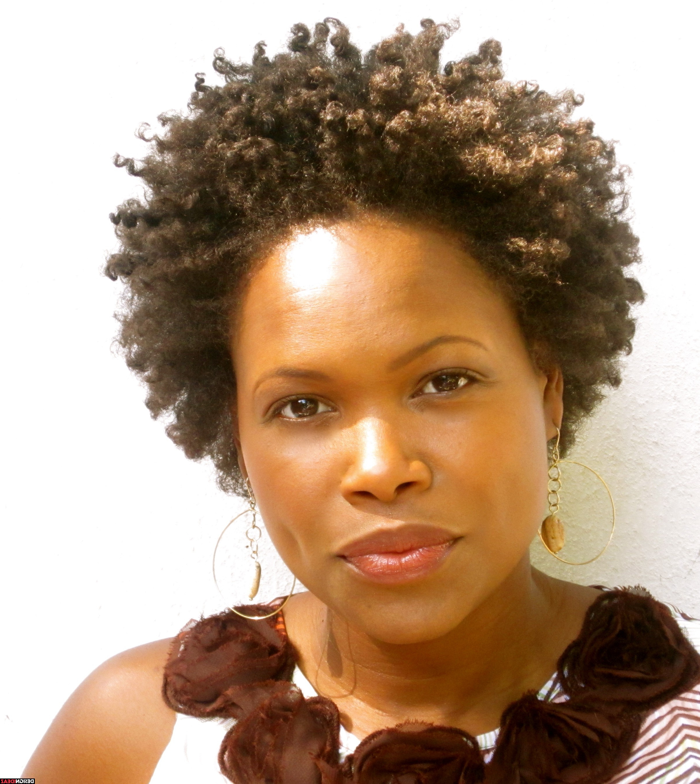 10 Noticeable African American Natural Afro Short Hairstyles In 2017 Throughout Short Haircuts For Kinky Hair (View 16 of 25)