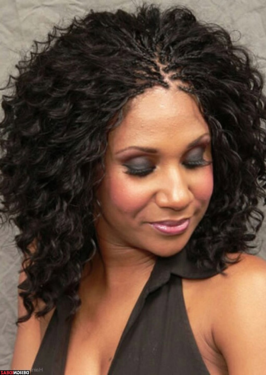 10 Sexy Short Black Braided Messy Hairstyles For Shorter Black Messy Hairstyles (View 4 of 25)