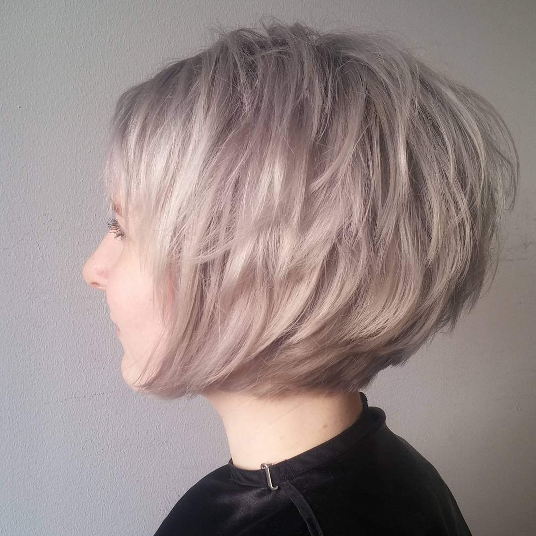 10 Short Edgy Haircuts For Women – Try A Shocking New Cut & Color Inside Ash Blonde Short Hairstyles (View 22 of 25)